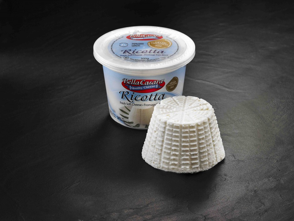 1 - Ricotta - Bella Casara - Quality Cheese ONT